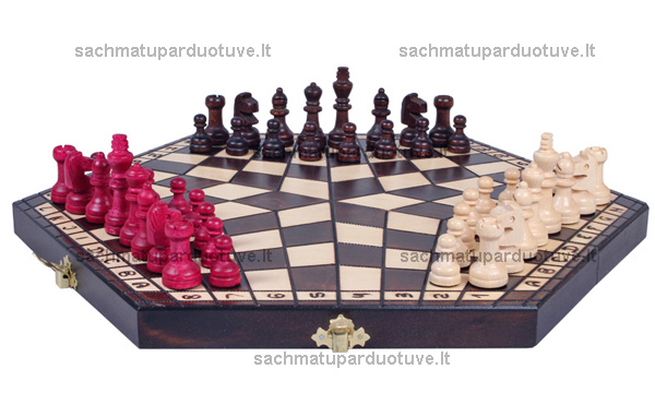 Šachmatai trims